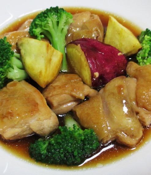 鶏もも肉中華風煮込み B