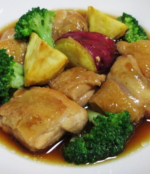 鶏もも肉中華風煮込み 拡大