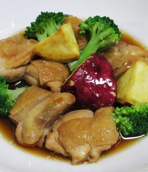 鶏もも肉中華風煮込み 大