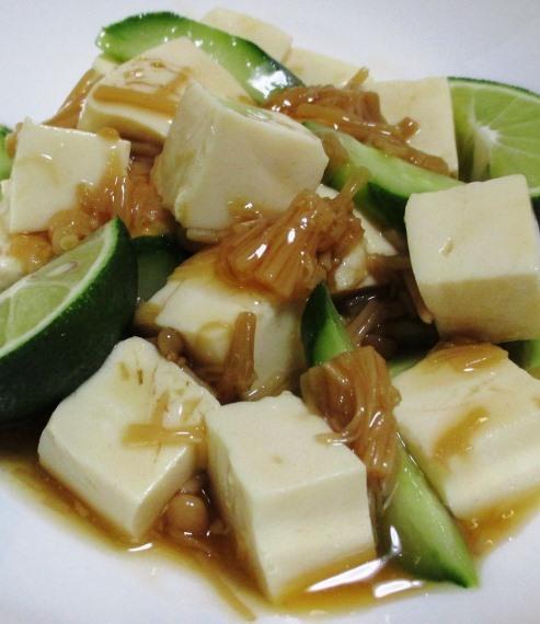 なめ茸豆腐 B