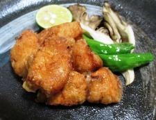 秋鮭の竜田揚げ 調理⑥