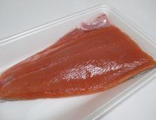 秋鮭の竜田揚げ 材料①