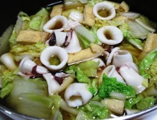 イカ白菜 調理⑥