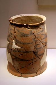紅山文化 円筒陶器
