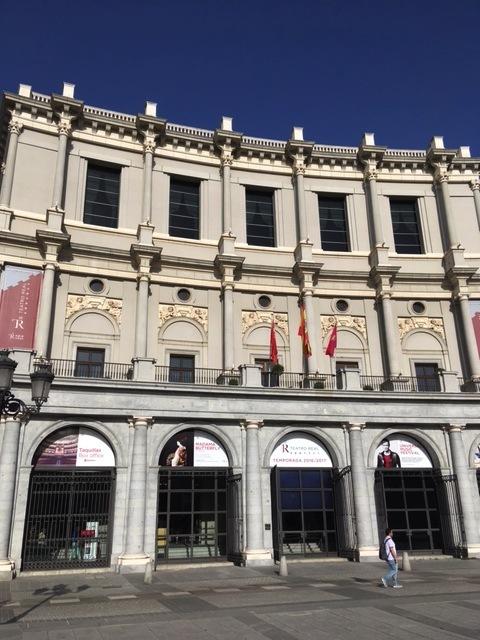 マドリッドのオペラ Teatro Real