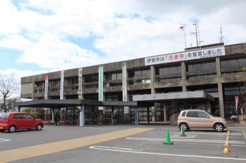0254:伊賀市庁舎 庁舎玄関