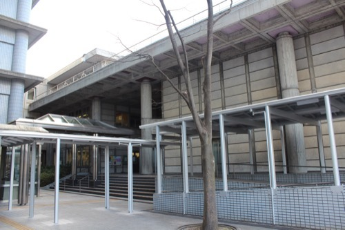 0255:大津市庁舎 別館入口