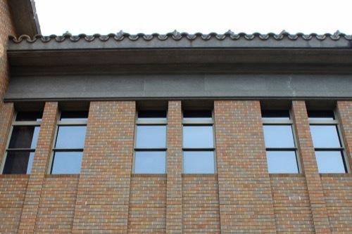 0260:徳島県立文書館 上層部ファサード