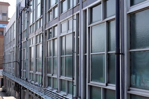0261:鳴門市庁舎・市民会館 庁舎を2階から③