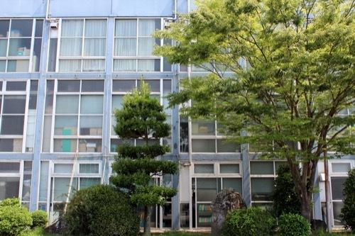 0261:鳴門市庁舎・市民会館 庁舎南側外観②
