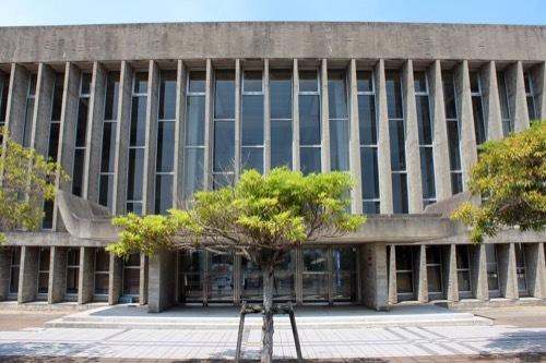 0262:鳴門市文化会館 東側外観③