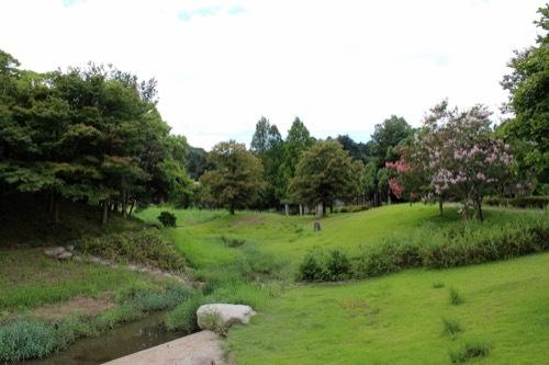 0263:石川県九谷焼美術館 公園の様子②