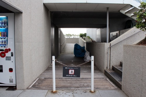 0264:加賀片山津温泉総湯 湖畔道への道