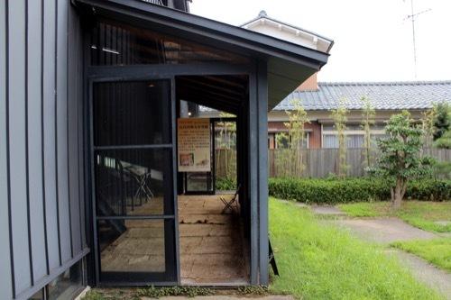 0268:九谷焼窯跡展示館 シェルター外観⑤