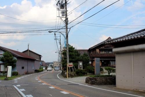 0268:九谷焼窯跡展示館 施設までの道のり②