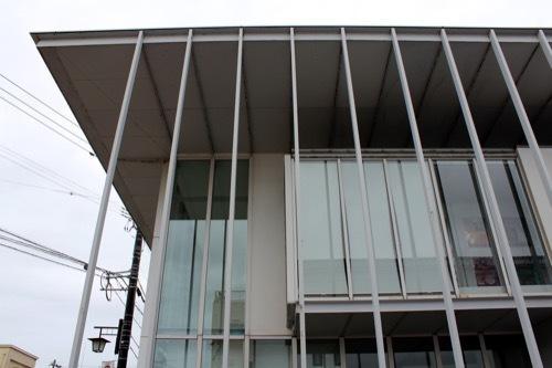0270:小松市宮本三郎美術館 新館ファサード