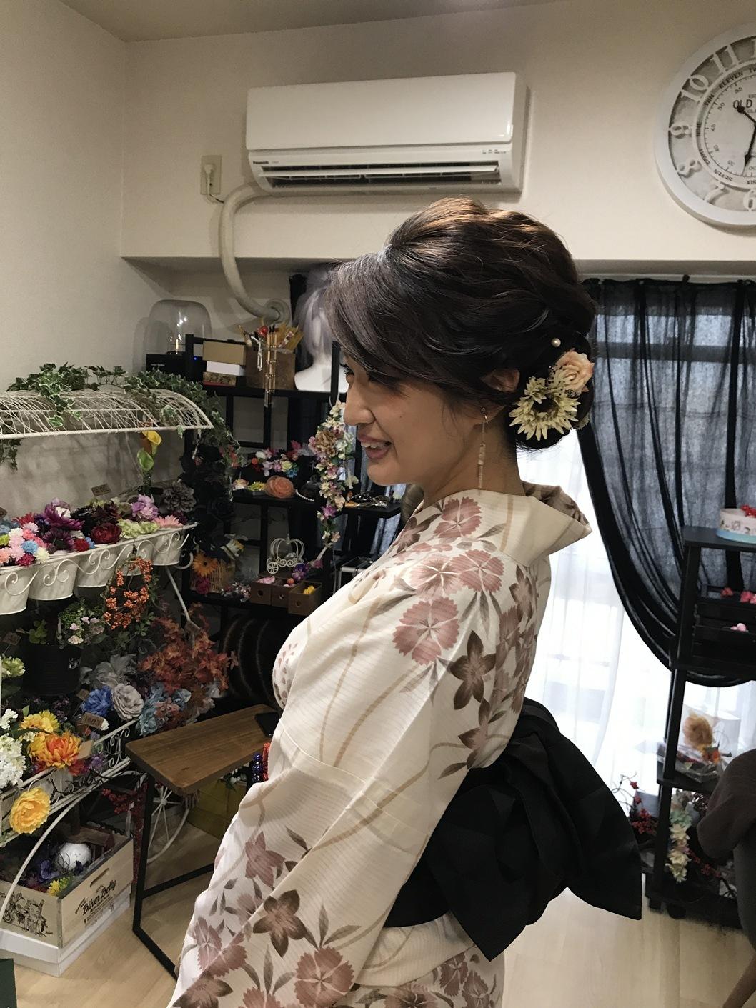 名古屋髪飾り作成