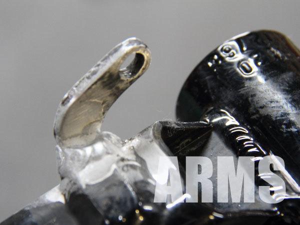 自転車のアルミフレームを溶接修理