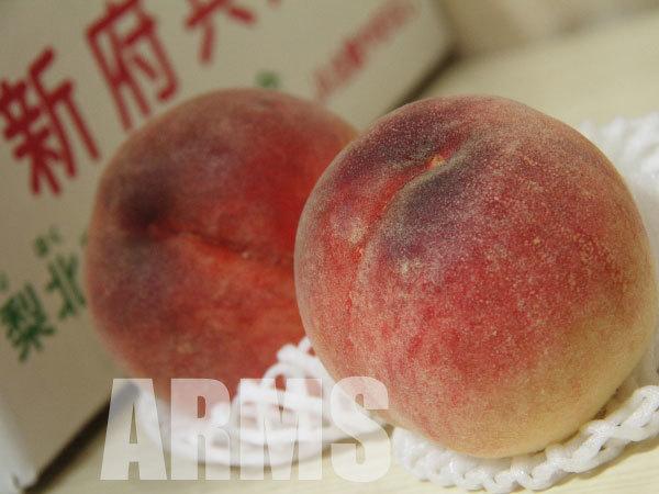 甘くて美味しい桃 山梨