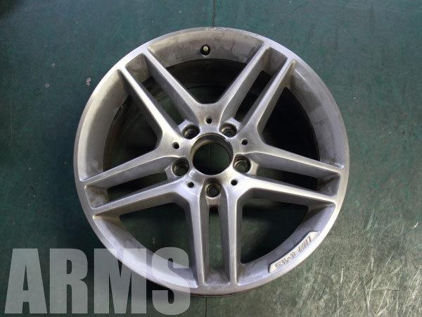 AMGホイール ダイヤモンドカット修理