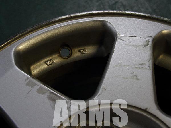 ホイールの錆び修理