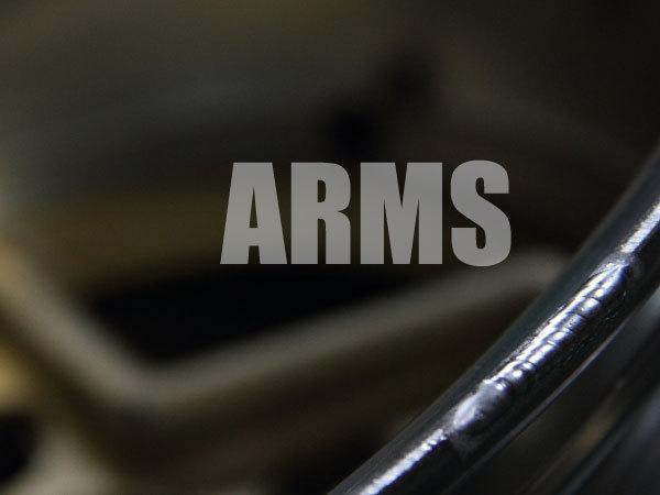アルミホイールのリムを修理