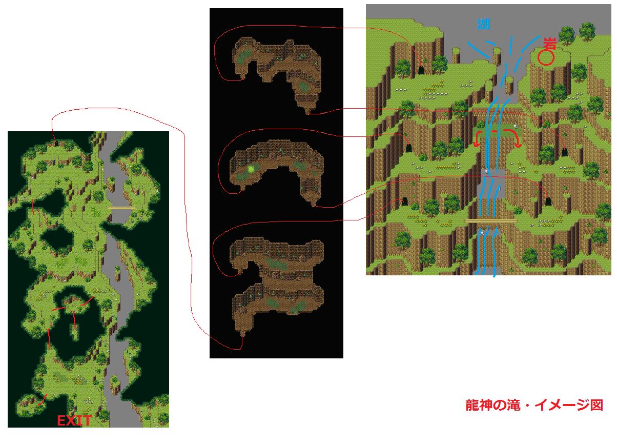 イメージ図・龍神の滝