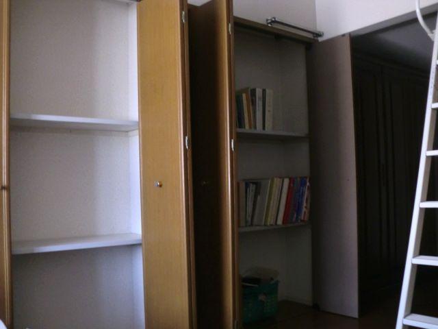 寝室壁面収納片付けアフター 1
