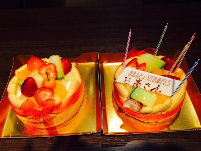 ふたつのケーキ