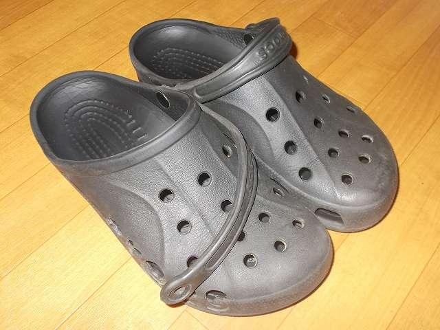 Crocs Baya クロックス バヤ メンテナンス前状態