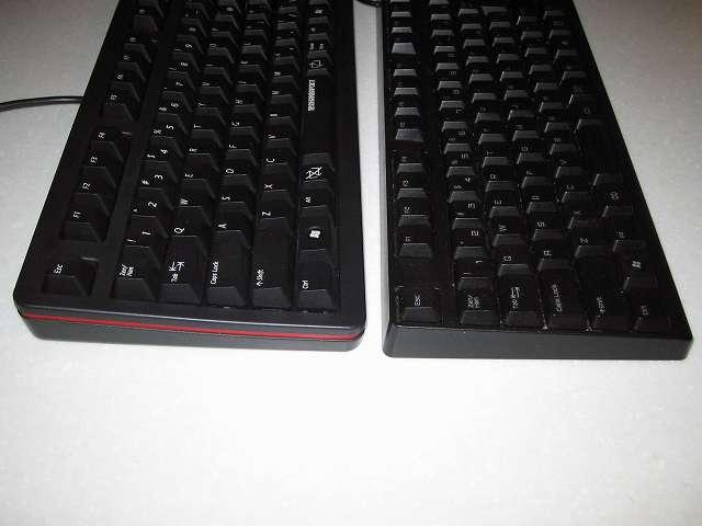 ダーマポイント タクティカルキーボード テンキーレスタイプ ゲーミングキーボード DRTCKB91UP2 と iBUFFALO SAVIOR ゲーミングキーボード BSKBC02BK 比較
