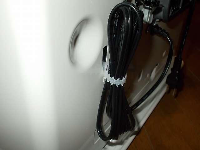 ダイニチ 石油ファンヒーター ウォームホワイト FW-3715LE(W) 電源コード