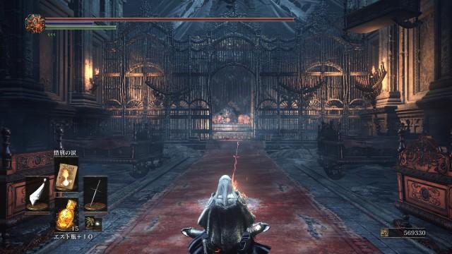 PC 版 ダークソウル3 DARK SOULS 3 ReShade Incandescent Reshade - Performance v1.5、篝火 深みの聖堂 ロザリアの寝室