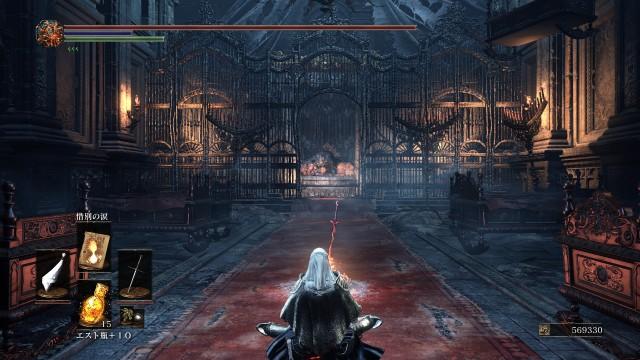 PC 版 ダークソウル3 DARK SOULS 3 ReShade Incandescent Reshade - Performance Lite 版 v1.5、篝火 深みの聖堂 ロザリアの寝室