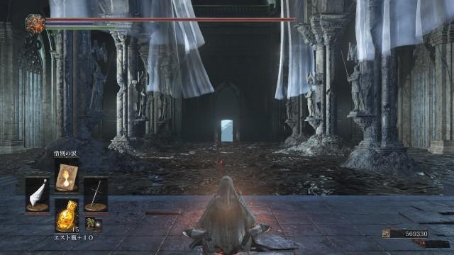 PC 版 ダークソウル3 DARK SOULS 3 ReShade なし(グラフィック変更 Mod なし、バニラ状態)、篝火 冷たい谷のイルシール 神喰らいのエルドリッチ