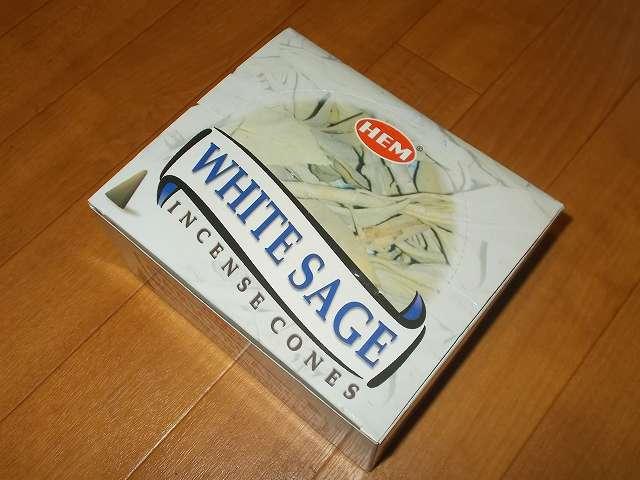HEM インセンス コーン ホワイトセージ 1箱 120個入り 購入