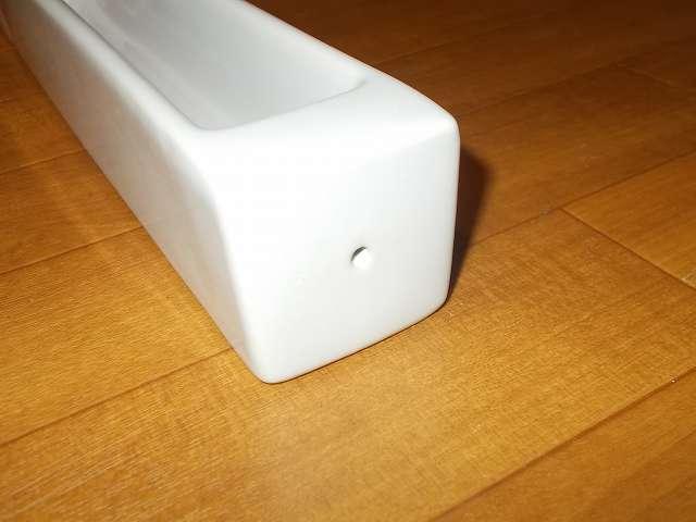ノルコーポレーション インセンスホルダー OS-LUH-1-2 ホワイト 側面穴 インセンス スティックタイプ差し込み場所穴