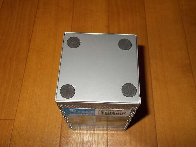 ナカバヤシ パンチングメタル ペンスタンド 角型 シルバーメタリック PS-K1SM 底面 すべり止めパッド付き