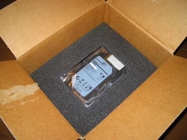 RMA 申請した Seagate HDD ST2000DM001 を梱包して国内にある返品先住所に発送してみました
