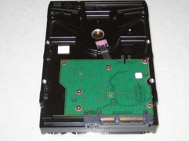 Seagate ハードディスク ST2000DM001 1CH164-302 基板側