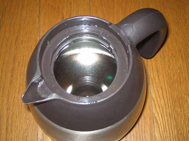 TIGER コーヒーメーカー 真空ステンレスサーバータイプ 8 杯用 ACW-S080-KQ コーヒー汚れ・こびりつきがあるコーヒーサーバー内部に適量投入したやさしい 洗濯用 酸素系漂白剤に熱湯をゆっくり注ぎいれ、数時間ほど放置、お湯を捨てた後に激落ちボトル洗い伸縮 (ビーズ) を使ってさらにコーヒーサーバー内部をこすり洗い水でよくすすいだ後