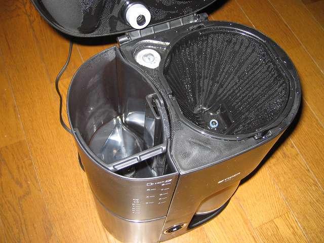 真空ステンレスサーバー付きコーヒーメーカー タイガー ACW-S080-KQ の本体内洗浄を行いました