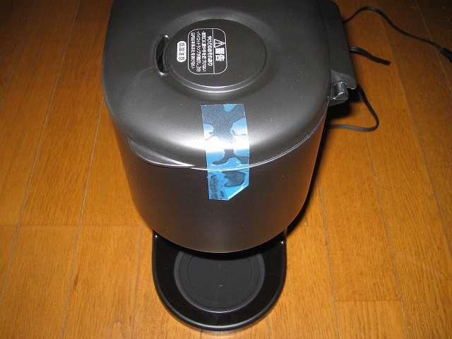 TIGER コーヒーメーカー 真空ステンレスサーバータイプ カフェブラック 8杯用 ACW-S080-KQ コーヒーメーカー本体フタテープはがし