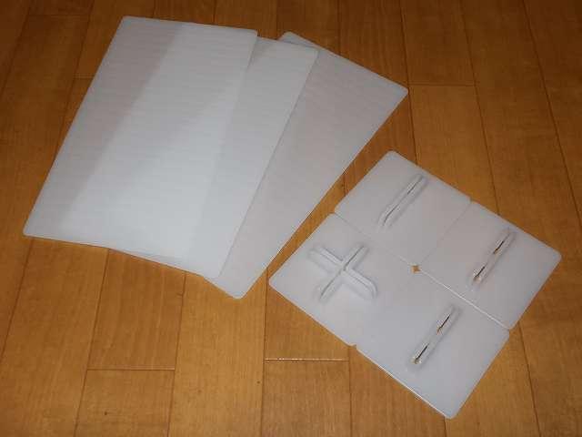 吉川国工業所 ST-05 サッと取出し 仕切板 L ホワイト 仕切り板(高さ 135×長さ 250mm) 3枚、シングルスタンド 3個、クロススタンド 1個