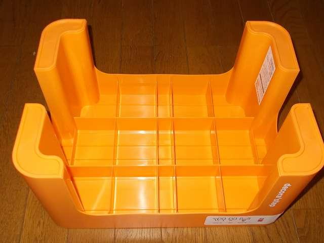 デコラステップ S オレンジ DS-SOR 脚部分には滑り止め ポリプロピレンエラストマー採用
