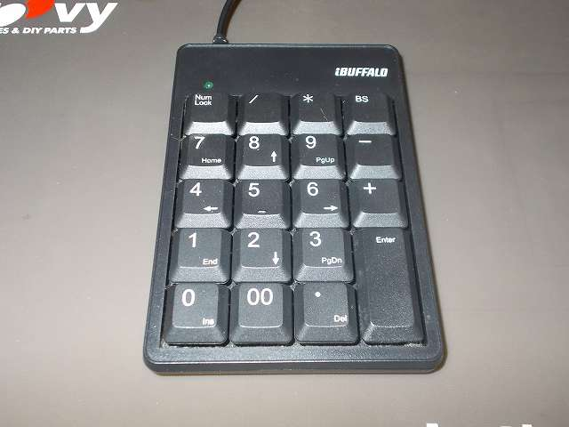iBUFFALO テンキーボード USB接続 19mmピッチ ブラック BSTK02BK メンテナンス
