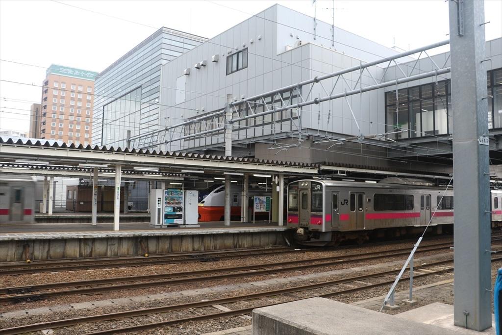 弘前駅に到着_2
