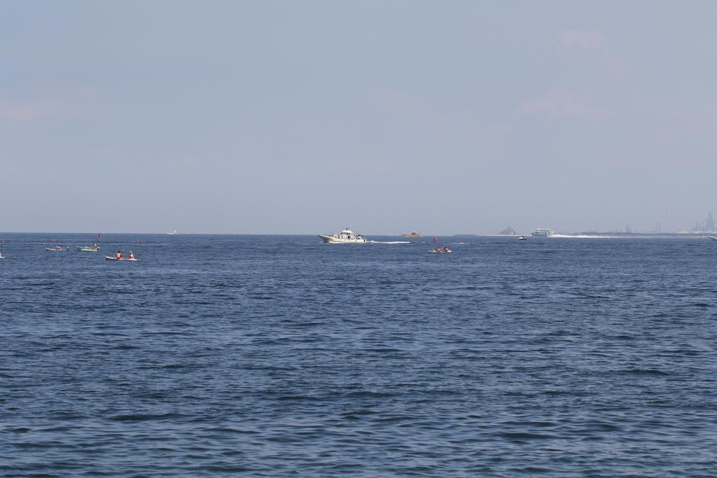 富津沖合方向