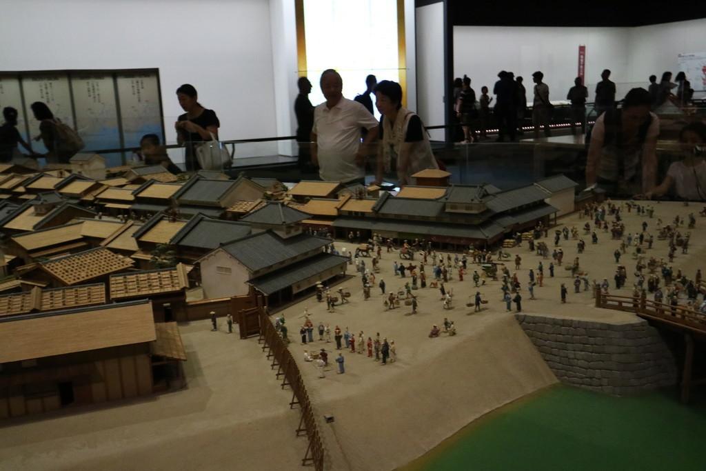 寛永の町人地模型_2