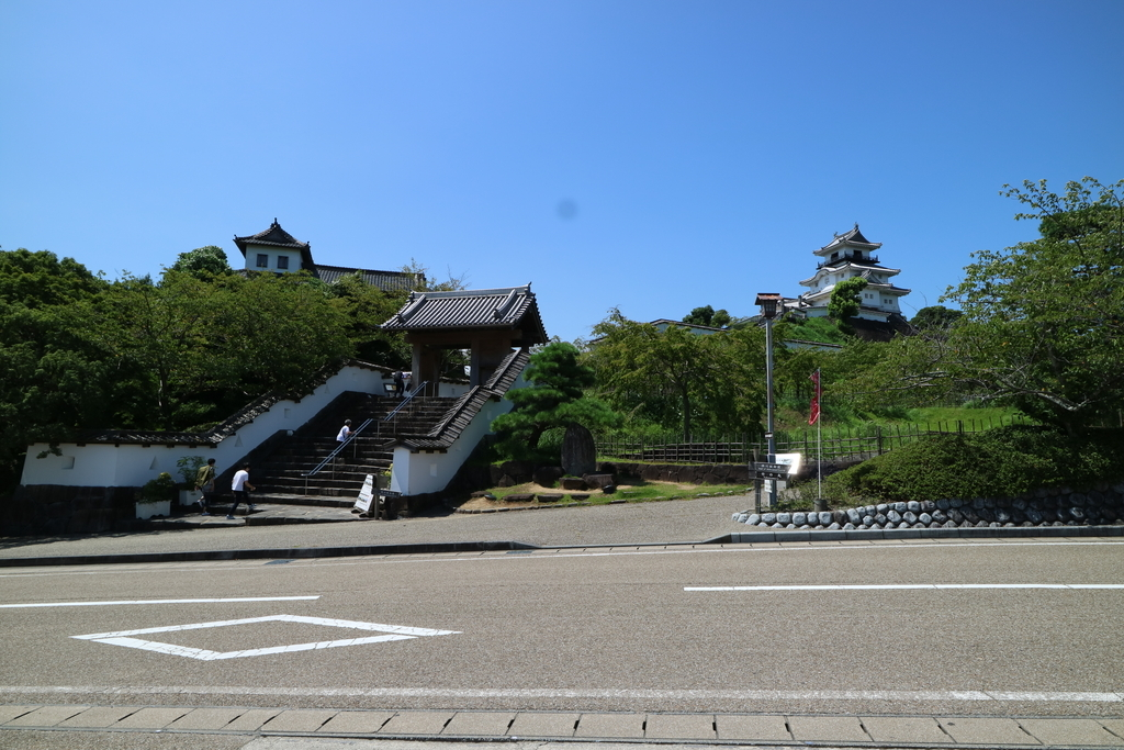 掛川城公園_三の丸から見た様子_1